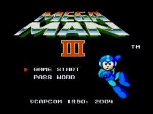 Mega Man III Title
