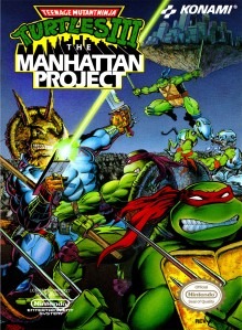 Teenage Mutant Ninja Turtles III The Manhattan Project Cover