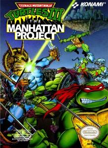 Teenage Mutant Ninja Turtles III The Manhattan Project Cover