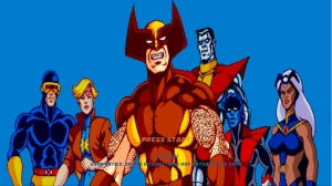 X-Men Arcade Art