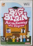 Big Brain Academy Wii Degree Cover