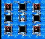 Mega Man III Stage Select