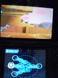 Each stage gets progressively more difficult, with more enemies flying around and more items to pick up.