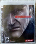 Metal Gear Solid 4 Cover