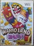 Wario Land Shake It Cover