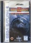 Mortal Kombat II (Saturn) Cover