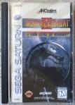 Mortal Kombat II (Saturn) Cover
