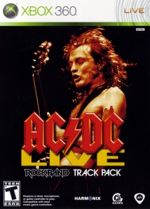 ACDC Live Rock Band Track Pack Cover