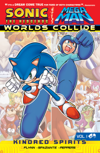 Sonic and Mega Man Worlds Collide vol 1 Cover
