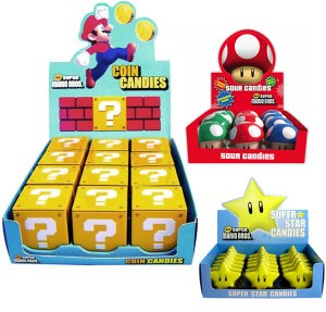 Super Mario Candy