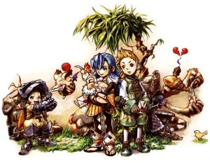 Final Fantasy Crystal Chronicles Art