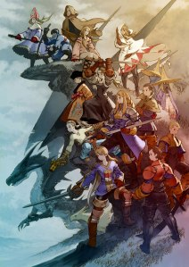 Final Fantasy Tactics Art