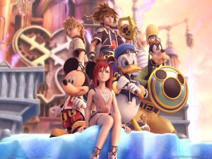 Kingdom Hearts 2 Art
