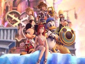 Kingdom Hearts 2 Art