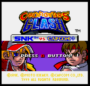 SNK vs Capcom Card Fighters Clash