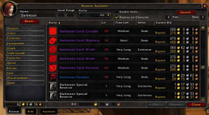 The World of Warcraft Auction House. It's kind of pricey...