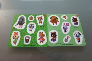 Animal Crossing Candy Stickers