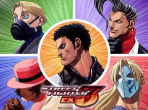 Street Fighter EX 3 Art