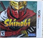 Shinobi (3DS) Cover