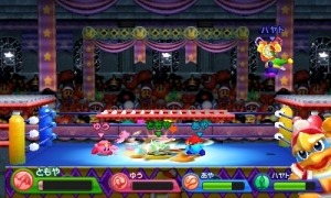 Kirby Triple Deluxe Battle Mode King Dedede Arena