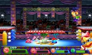 Kirby Triple Deluxe Battle Mode King Dedede Arena