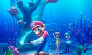 Mario Golf World Tour Art 1