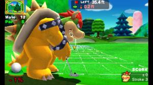 Mario Golf World Tour Bowser Putting