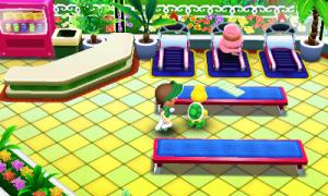 Mario Golf World Tour Castle Club Gym