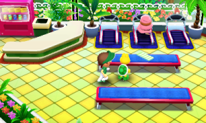 Mario Golf World Tour Castle Club Gym