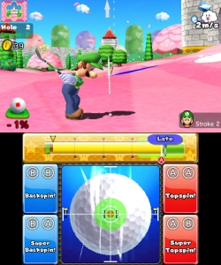 Mario Golf World Tour Manual Mode