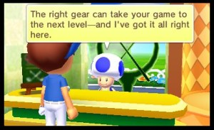 Mario Golf World Tour Mii Gear