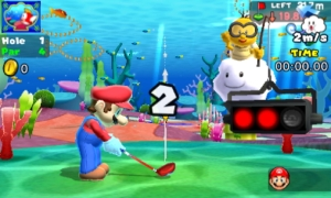 Mario Golf World Tour Time Attack