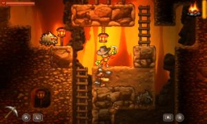 SteamWorld Dig Gameplay 2