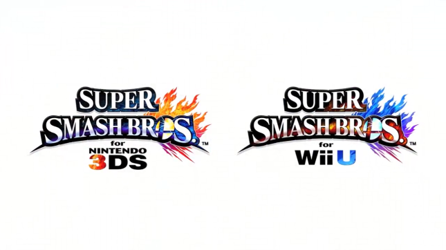 Super Smash Bros Wii U 3DS Logo