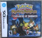 Pokemon Mystery Dungeon Explorers of Darkness Cover