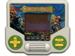 Tiger Electronics Castlevania Simons Quest