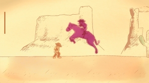 Gunman Clive Gameplay Horse