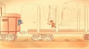 Gunman Clive Gameplay  Train