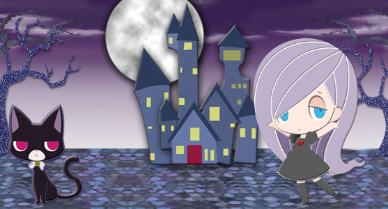 Gabrielles Ghostly Groove 3D Banner