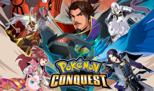 Pokemon Conquest Art