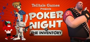 Poker Night at the Inventory Art