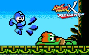 Street Fighter X Mega Man Art