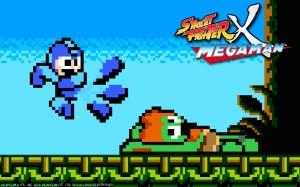 Street Fighter X Mega Man Art