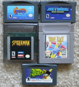 Game Boy and Game Boy Advance Games