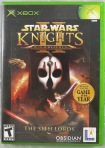 Star Wars Knights of the Old Republic II The Sith Lords Cover