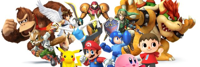 Super Smash Bros 3DS Banner