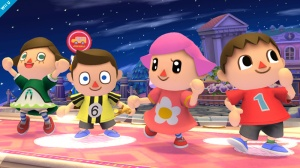 Super Smash Bros Villager