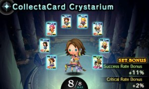 Theatrhythm Final Fantasy Curtain Call CollectaCard Crystarium