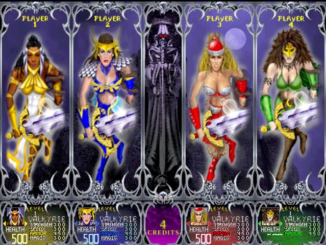 Gauntlet Legends Valkyrie