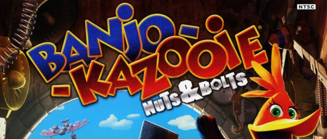 Banjo-Kazooie Nuts and Bolts Banner